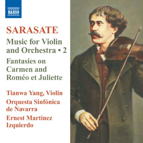 - Sarasate: Music for Violin and Orchestra, Vol. 2