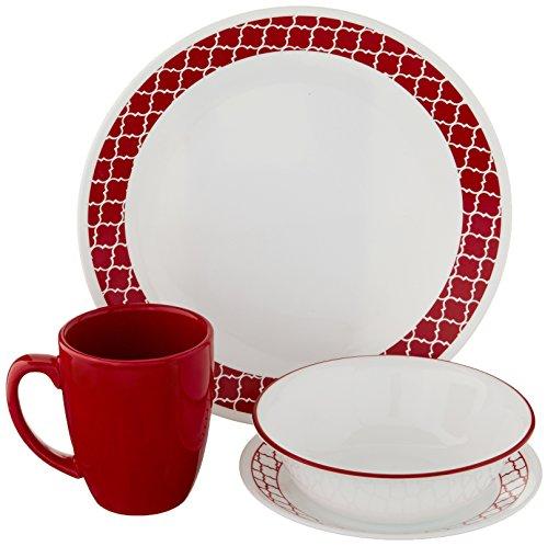 correlle white bread plates - 8