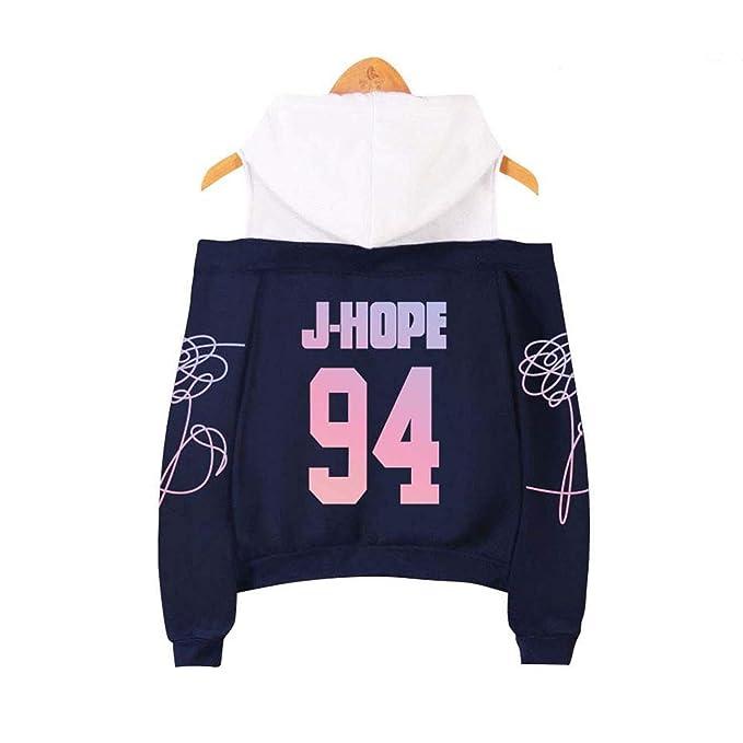 ZIGJOY KPOP BTS Love Yourself Tear Sudadera con Capucha con Sudadera Suga Jin Jimin V Jungkook J-Hope para Fanáticos: Amazon.es: Ropa y accesorios