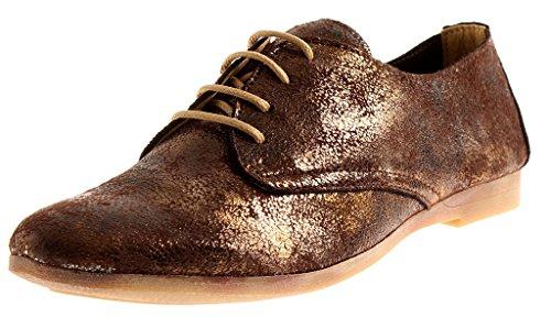 à Marron Lacets Stretch Kell 5151 Femmes Chaussures 10 Lacets à par D'Été Chaussures Kathamag nIFxZO0I