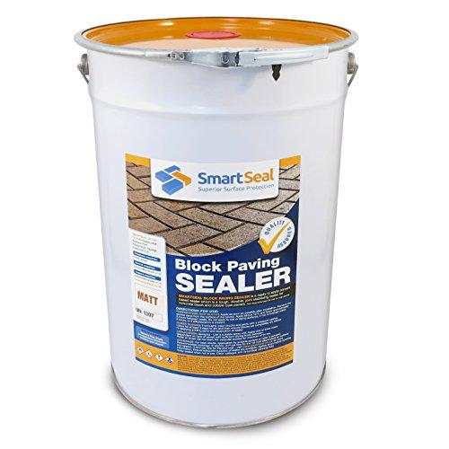 Smartseal Block Paving Sealer 25L - MATT finish - High Quality, Durable...
