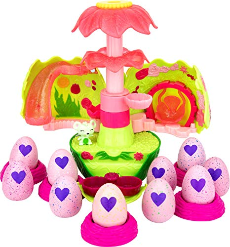 Hatchimals Spin Master Secret Scene Playset and CollEGGtibles (Season 2) 10 Pack Bundle: Ages 5+