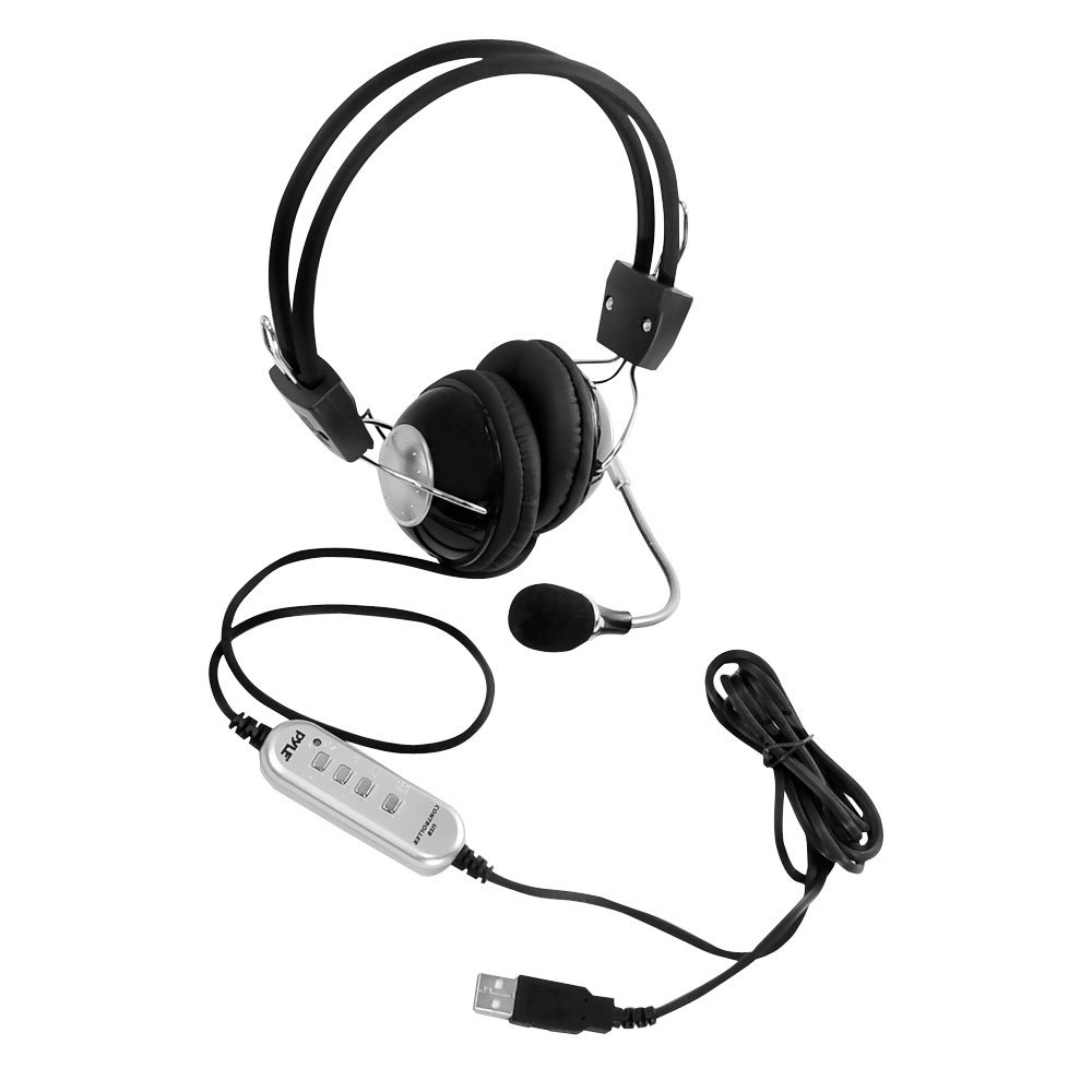 30off Pyle Home Phpmcu10 Multimedia Gaming Usb Headset With Noise Enclosure Quotproduct Category Structured Wiring Canceling Microphone