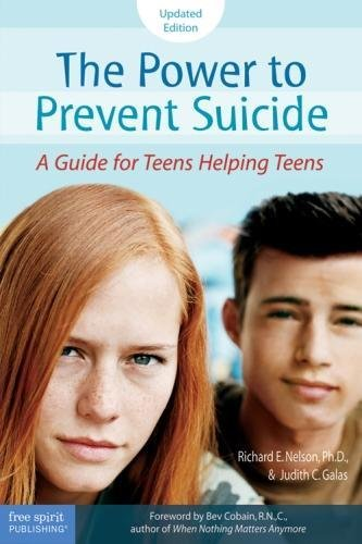 The Power To Prevent Suicide  A Guide For Teens Helping Teens