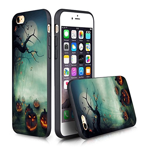 (iPhone 6s Plus Case Personalized Design FTFCASE (TM) iPhone 6/6s Plus (5.5 Inch) PC Black Cell Phone Case Halloween)