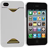 LE White Credit Card ID Case for Apple iPhone 4, 4S (AT&T, Verizon, Sprint)
