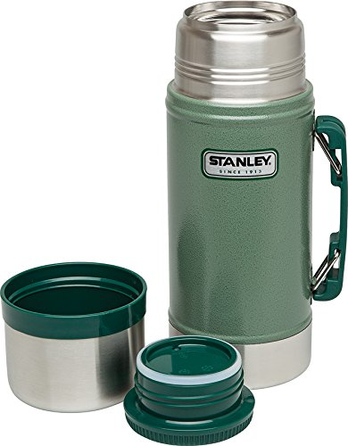 Wide Mouth Food - Stanley Classic Vacuum Food Jar 24oz Hammertone Green