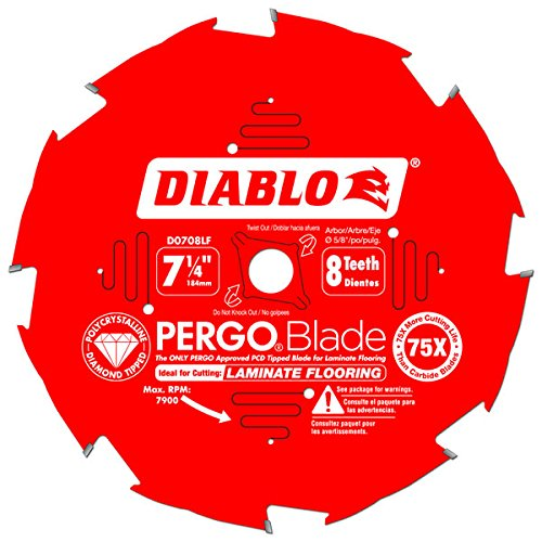 Freud D0708lf Pcd Laminate Flooring Blade Hardware