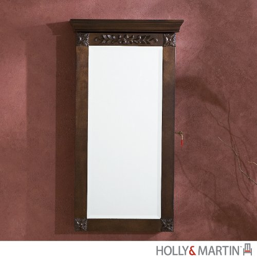 Holly Martin Vivienne Wall Mount Armoire Espresso product image