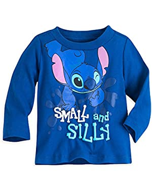 Stitch Tee for Baby Blue