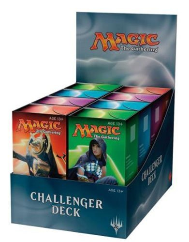 Display Box of (8) MTG Magic Challenger Decks: (2 each) Hazoret Counter Vehicle Second ()