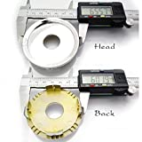 60mm rim - 4PCS Hub Caps Wheel center cap D1= 60mm. D2= 66mm.Wheel Rim 15