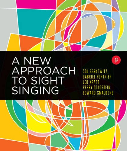 A New Approach to Sight Singing (Sixth Edition) by W. W. Norton & Company