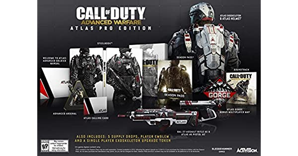 Call of Duty: Advanced Warfare Atlas Pro Edition - Xbox 360 by Activision: Amazon.es: Videojuegos