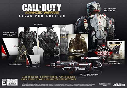 Call of Duty: Advanced Warfare Atlas Pro Edition - Xbox 360 (Call Of Duty Advanced Warfare Xbox Bundle)