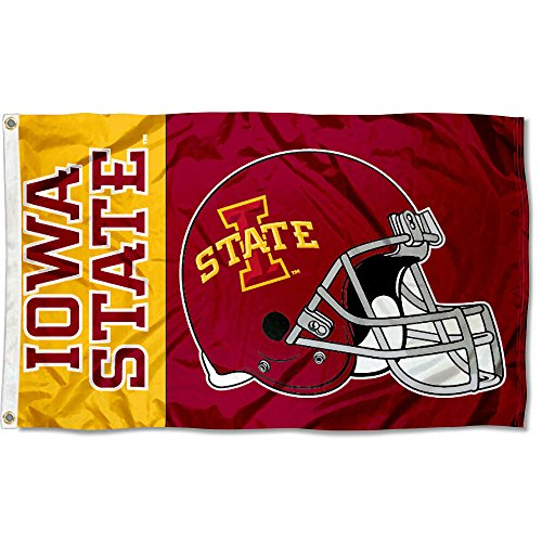 College Flags and Banners Co. Iowa State Cyclones Football Helmet Flag