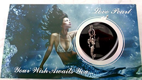 (Love Wish Pearl Kit Chain Necklace Kit Pendant Cultured Pearl in Kit Set With Stainless Steel Chain 16