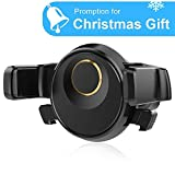 Car Phone Holder, 360 Degree Rotatable Universal Air Vent Mount Cradle Smart One-Touch Design for iPhone Samsung and Other Smart Cellphone by HonShoop