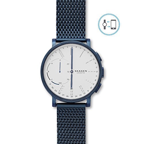 Mesh Hybrid (Skagen Hagen Connected Blue Steel-Mesh Hybrid Smartwatch)