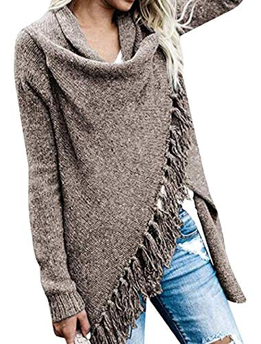 Blanycool Womens Lightweight Cardigan Sweater Open Front Wrap Knit Cape Outwear