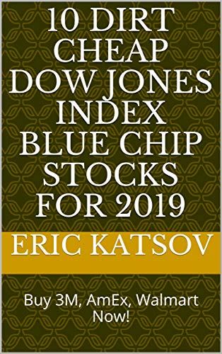 Amazon com: 10 Dirt Cheap Dow Jones Index Blue Chip Stocks for 2019
