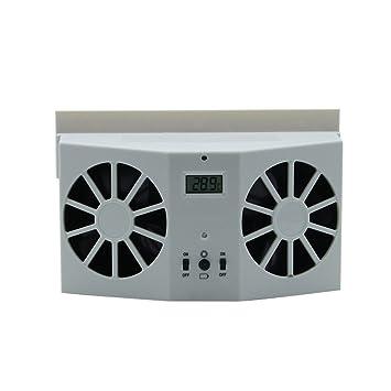 Steellwingsf Voiture Solaire Ventilateur De Refroidissement Pour