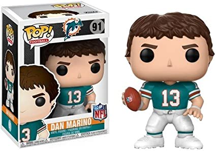 c5c6ccda340 Image Unavailable. Image not available for. Color  Funko POP! NFL  Legends  - Dan Marino Collectible Figure
