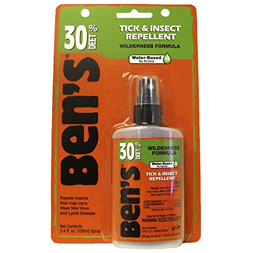 Bens 100 Pump - Adventure Medical Bens 30 Tick Repellent Pump, 3.4-Ounce