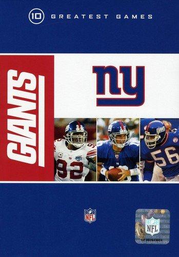 NFL: New York Giants - 10 Greatest Games