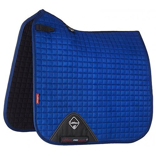 LEMIEUX PROSPORT DRESSAGE SQUARE SUEDE BENETTON blueE WITH D RING FULL ONE SIZE