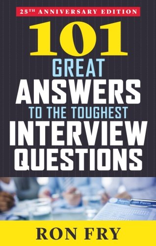 Answers Toughest Interview Questions Anniversary product image