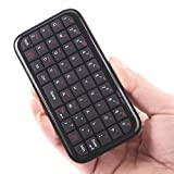 IMAGE 49-Key Bluetooth Wireless Mini Keyboard for iPad, iPhone, PDAs, Smartphones or PlayStation 3 (Black)