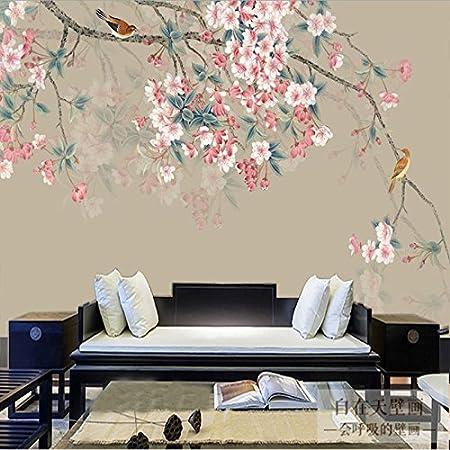 huangyahui mural souvenir flower wallpapers living room tv wall