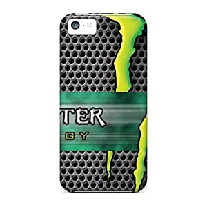 Iphone 5c NKc825GsBf Custom Stylish Monster Pattern Excellent Hard Cell-phone Cases -AlainTanielian