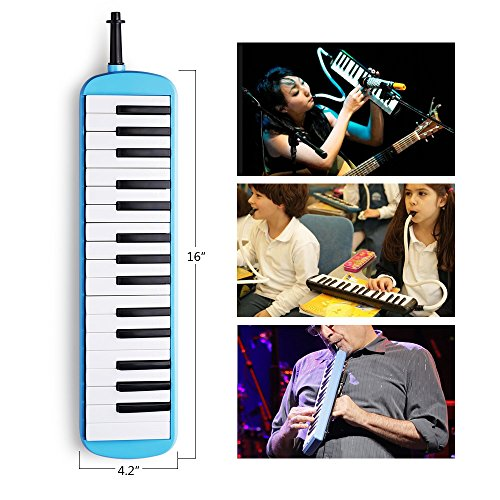 Frunsi 32 Key Melodica Instrument with Piano Keyboard Style, Easy to Play for Adult Children, Suit for Music Learning, Playing, Party Fun with Carry Bag - Image 3