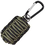Stone Mountain MicroFish 15-in-1 Paracord Survival and Fishing Kit