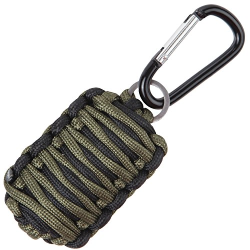 Grenade Bag - Stone Mountain MicroFish 15-in-1 Paracord Survival Fishing Kit