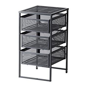 Ikea Lennart - Unidad de cajón, de Color Gris Oscuro: Amazon ...