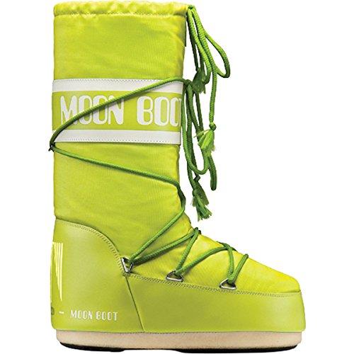Moon Boot 14004400, Botas de Nieve Unisex Adulto Verde