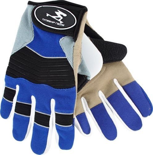 Timeship Free Riders Slide Gloves - [Large] Blue by Timeship