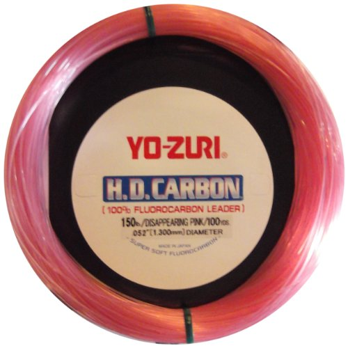 Yo-Zuri HD Fluorocarbon Leader Pink 30Yds