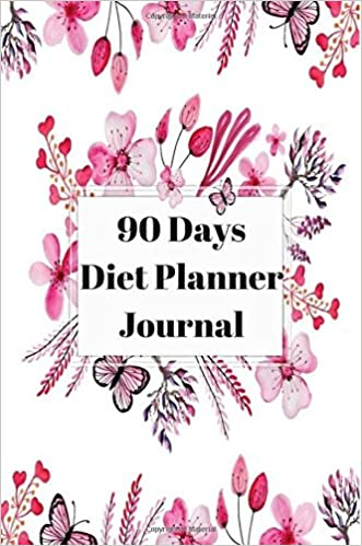 amazon 90 days diet planner journal healthy food daily record
