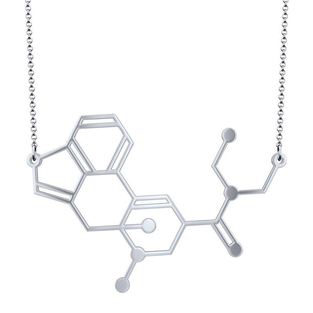 CTRL Creations LSD Molecule Pendant Necklace Acid
