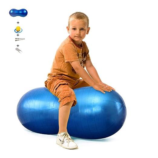 XGYUII Pelota de Yoga con maní y Bola de Ejercicio de PVC Adecuada ...
