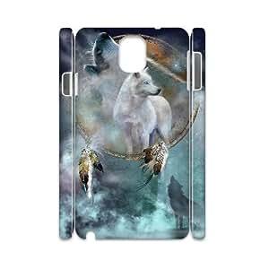LGLLP Wolf Dream Catcher Phone case For samsung galaxy note 3 N9000 [Pattern-4]