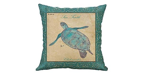 LNGRY Fundas de almohada, bonito diseño retro de dibujos ...