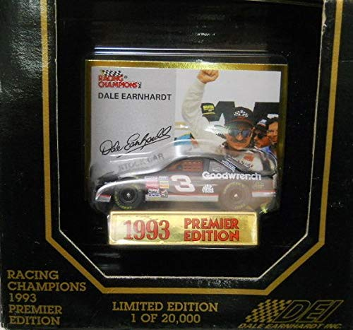 NASCAR 1993 Racing Champions Premier Edition One of 20000 GM Goodwrench Dale Earnhardt Sr #3 1/64 Scale Diecast