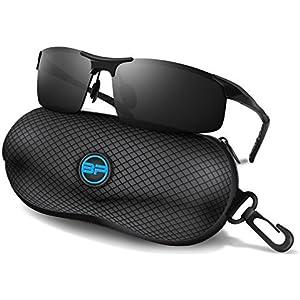 4da9b9fdb BLUPOND Sports Sunglasses for Men/Women - Anti Fog Polarized Shooting  Safety Glasses for Ultimate