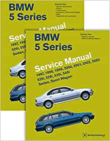 BMW 5 Series (E39) Service Manual: 1997, 1998, 1999, 2000, 2001, 2002, 2003  - 2 Volume Set: Bentley Publishers: 9780837616728: Amazon.com: BooksAmazon.com