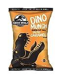 Jurassic World Dino Munch Salted Caramel Dino Shaped Puff Corn 5 oz, Case of 8
